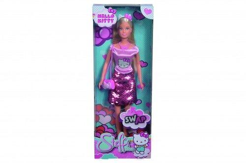SL Steffi w stylizacji Hello Kitty w cekinowej spódnicy