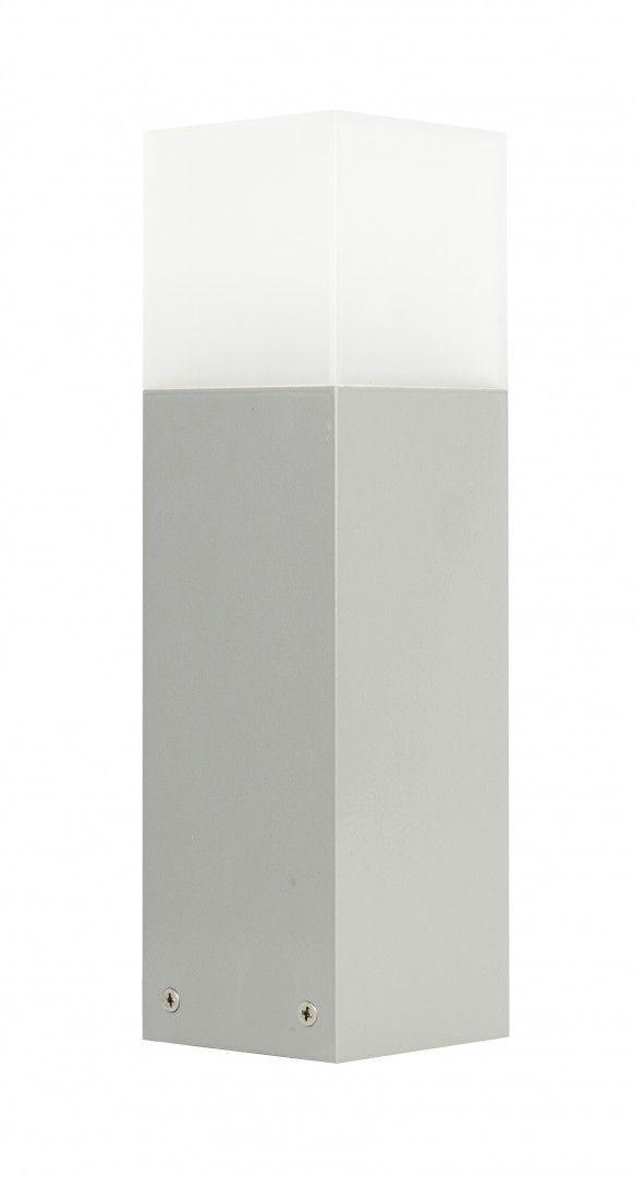 Lampa stojąca ogrodowa Cube CB-330 AL Srebrny IP44 - Su-ma // Rabaty w koszyku i darmowa dostawa od 299zł !