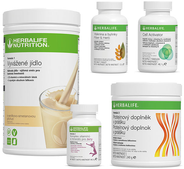 Odżywianie komórek, 4 składnik -s koktajlem F1 780g i Protein 240g