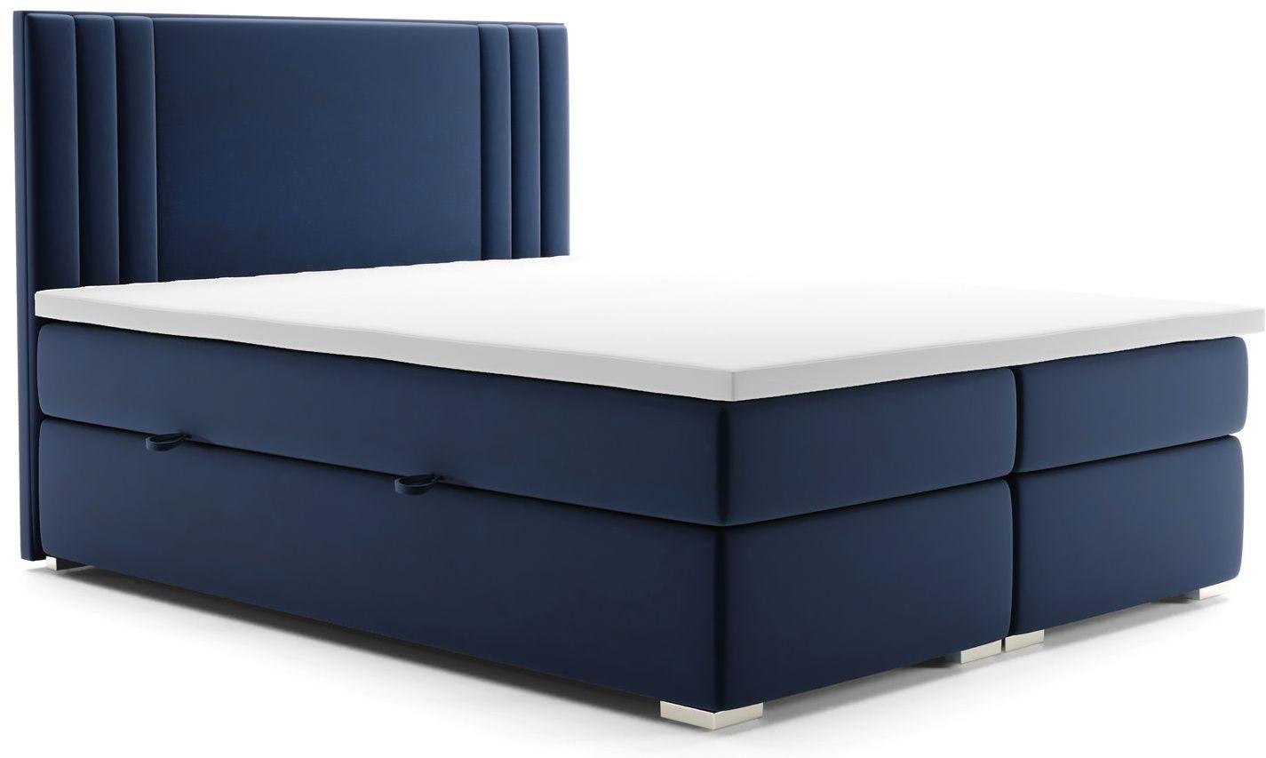 Podwójne łóżko kontynentalne Felippe 160x200 - 58 kolorów