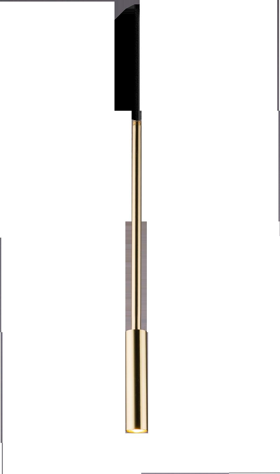 Lampa wisząca Lara 1 Złoty 0660 - Amplex // Rabaty w koszyku i darmowa dostawa od 299zł !