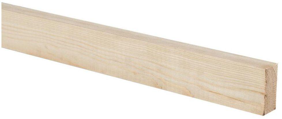 Kantówka elewacyjna drewniana 20x48x2700 mm Floorpol