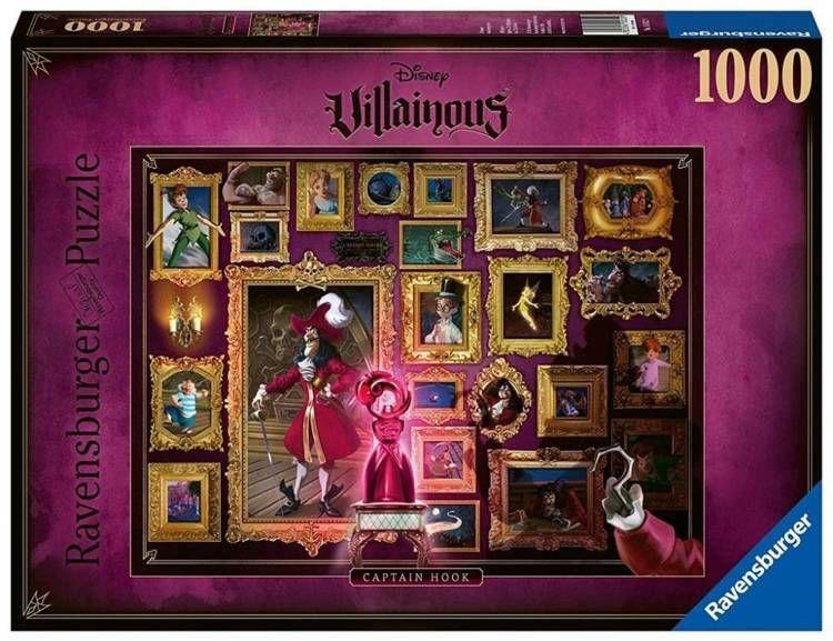 Puzzle 1000 Villainous. Kapitan Hook - Ravensburger