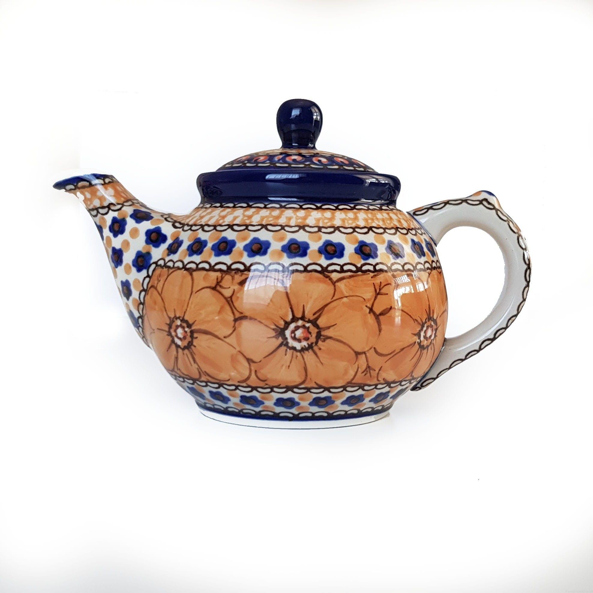 Czajnik do parzenia herbaty 400ml, Bolesławiec Unikat