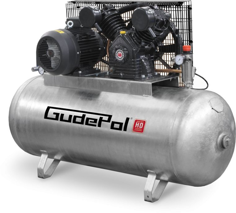 Sprężarka tłokowa GudePol HD 100-500-1200
