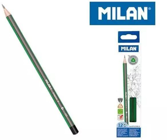 Ołówek trójkątny B (12szt) MILAN