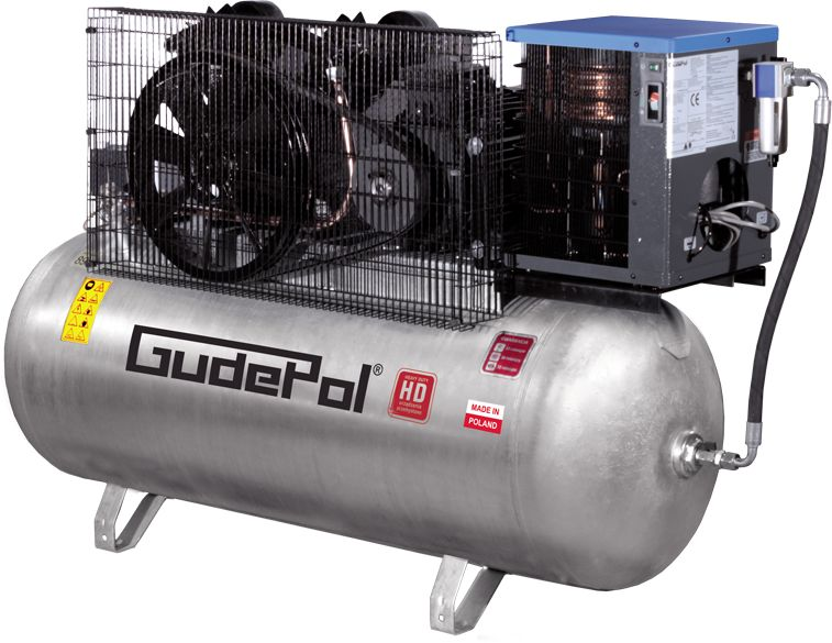 Sprężarka tłokowa GudePol HD 100-500-1200 VT