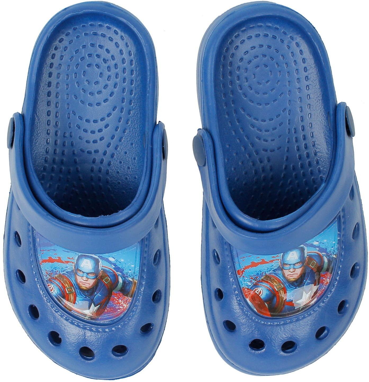 Klapki dla chłopca (Sandały) AVENGERS - kroksy, granatowe