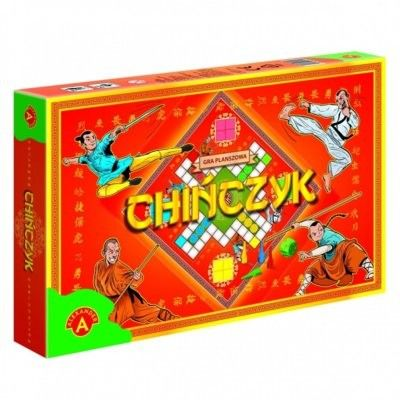 Klasyczna Gra Planszowa Rodzinna Chińczyk