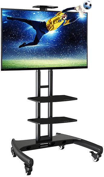 """AVA1500TP - ekskluzywny mobilny stojak z dwoma półkami, do TV LCD, LED plazma 32""""-70"""""""