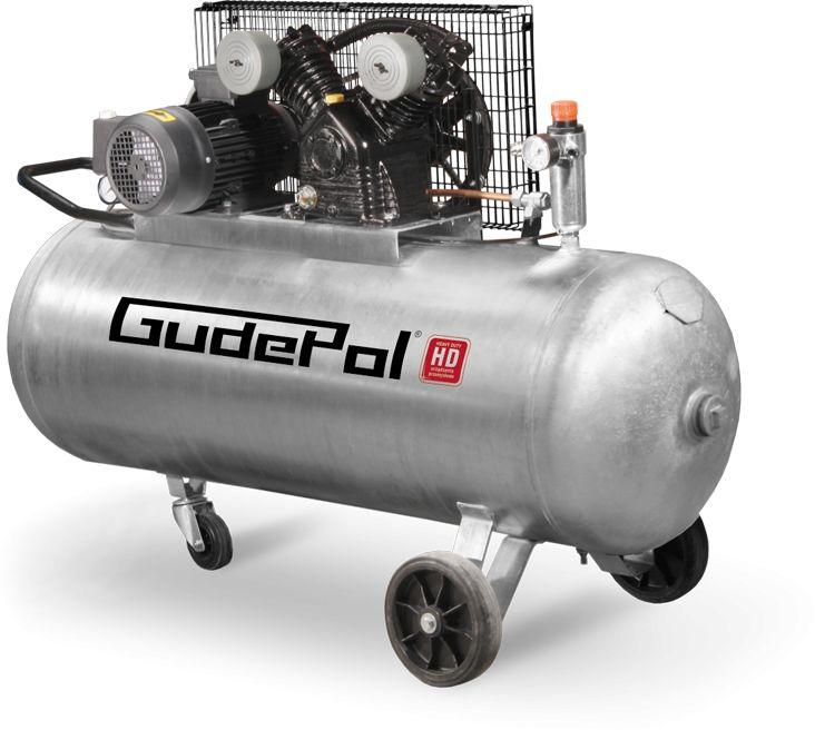 Sprężarka tłokowa GudePol HD 40-200-510