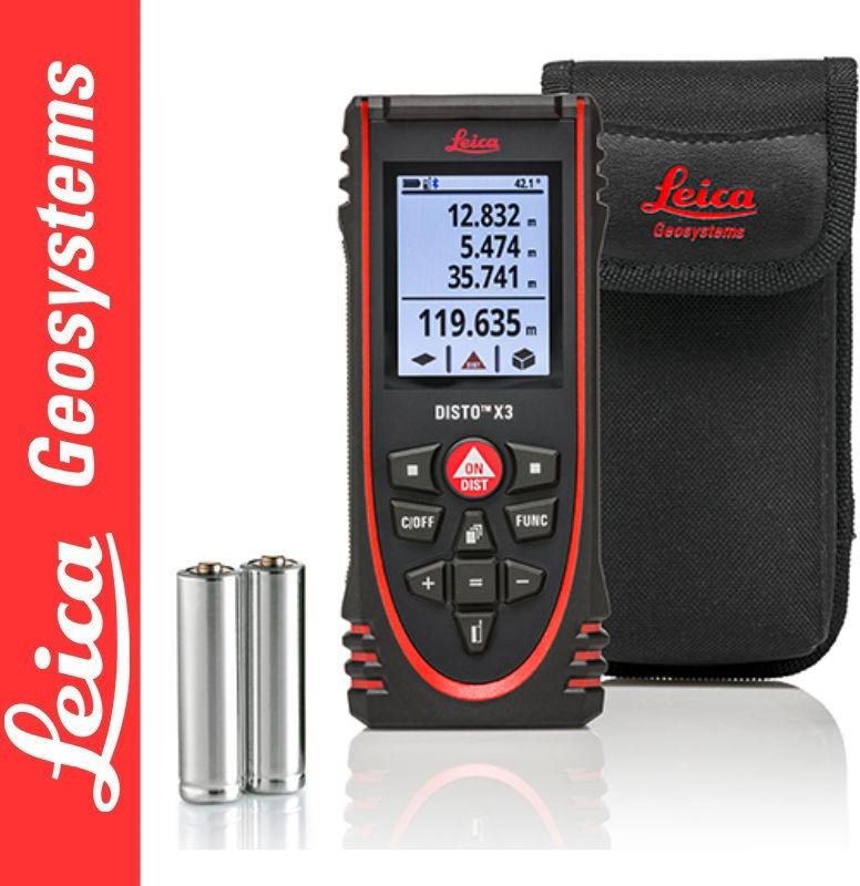 Dalmierz laserowy DISTO X3 Leica