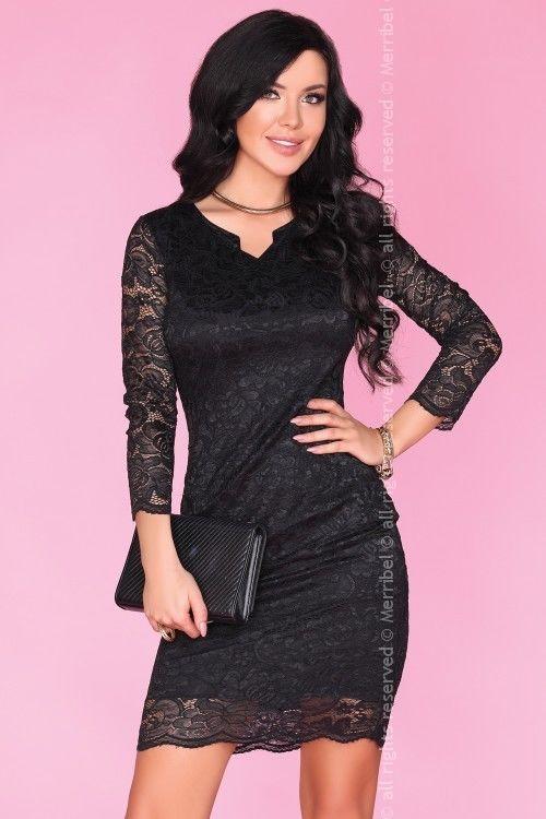 Merribel 10391D sukienka czarna