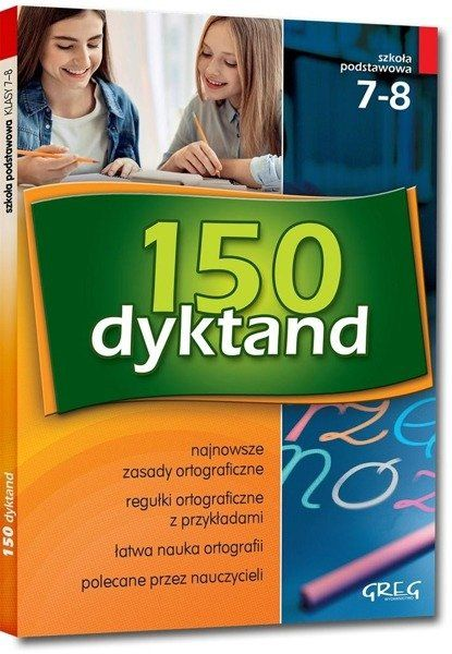 150 dyktand SP 7-8 w.2018 GREG - Elżbieta Szymonek, Beata Kuczera, Krystyna Cygal