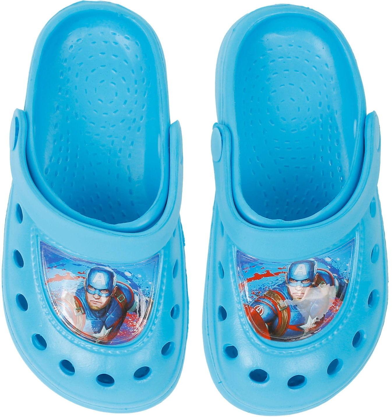 Klapki dla chłopca (Sandały) AVENGERS - kroksy, niebieskie