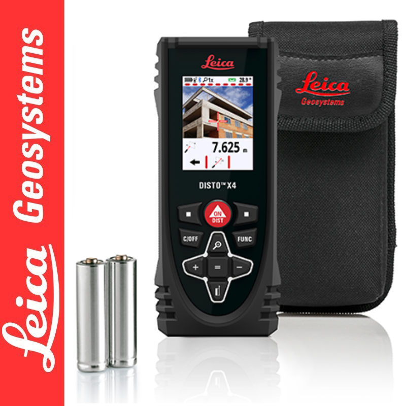 Dalmierz laserowy DISTO X4 Leica
