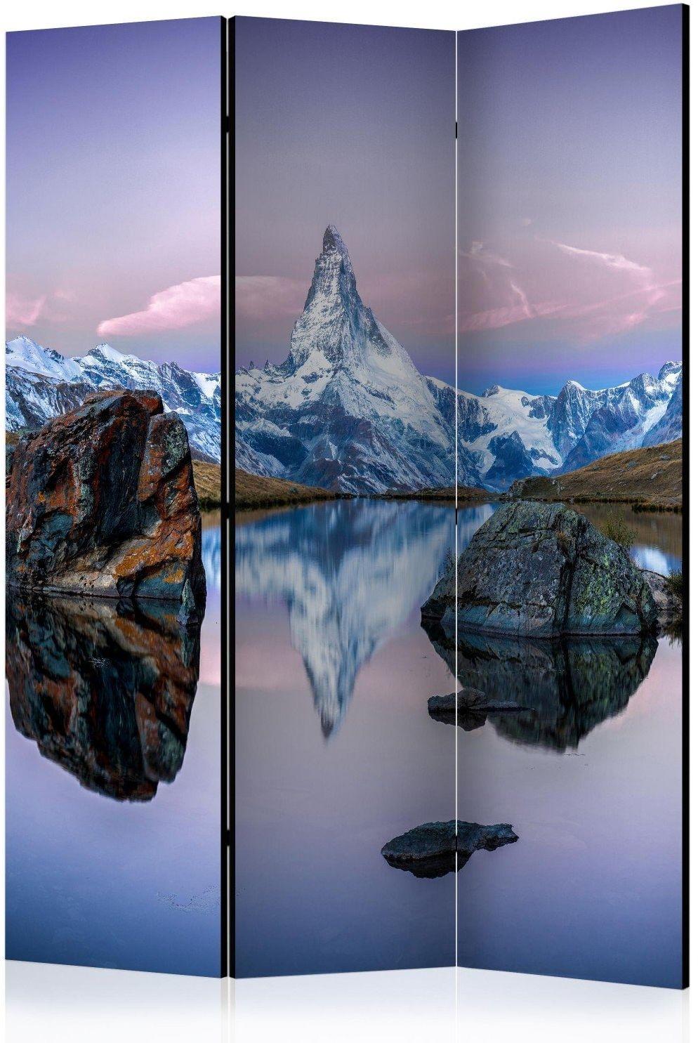 Parawan 3-częściowy - samotna góra [room dividers]