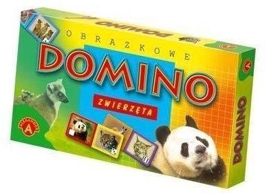 Domino obrazkowe - zwierzęta ALEX - Alexander