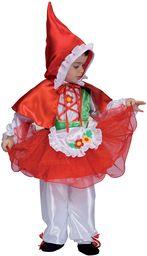 Ciao 14525  kostium czerwonego Kapturka, dla dzieci w wieku 2  3 lat, czerwony/biały