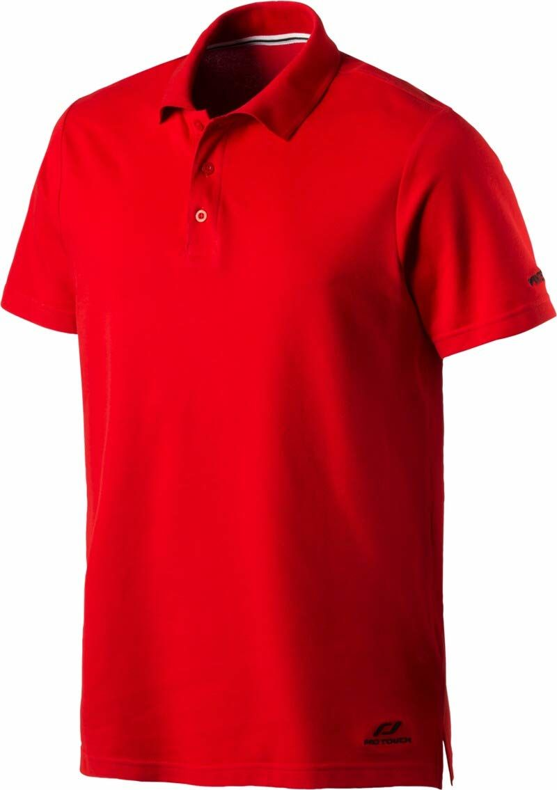 Pro Touch Promo męska koszulka polo, czerwona, M