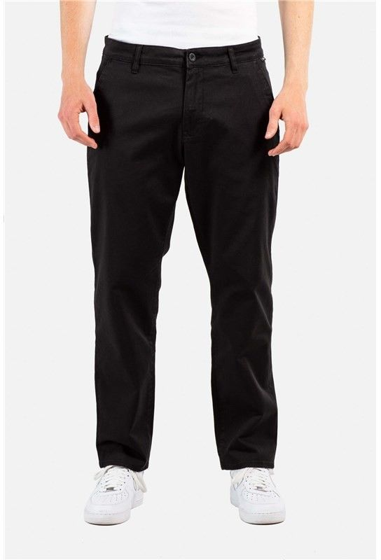 spodnie REELL - Regular Flex Chino Black (120)