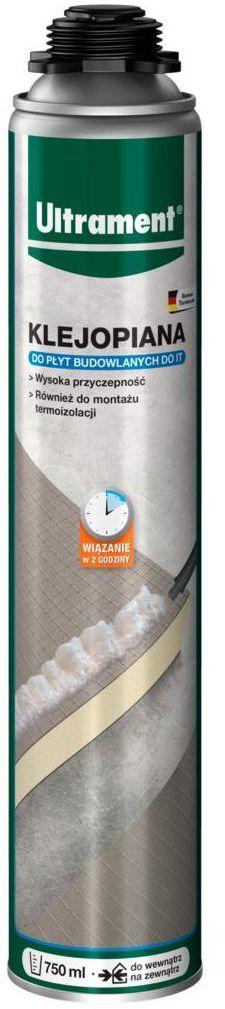 Klejopiana do płyt budowlanych 750 ml ULTRAMENT