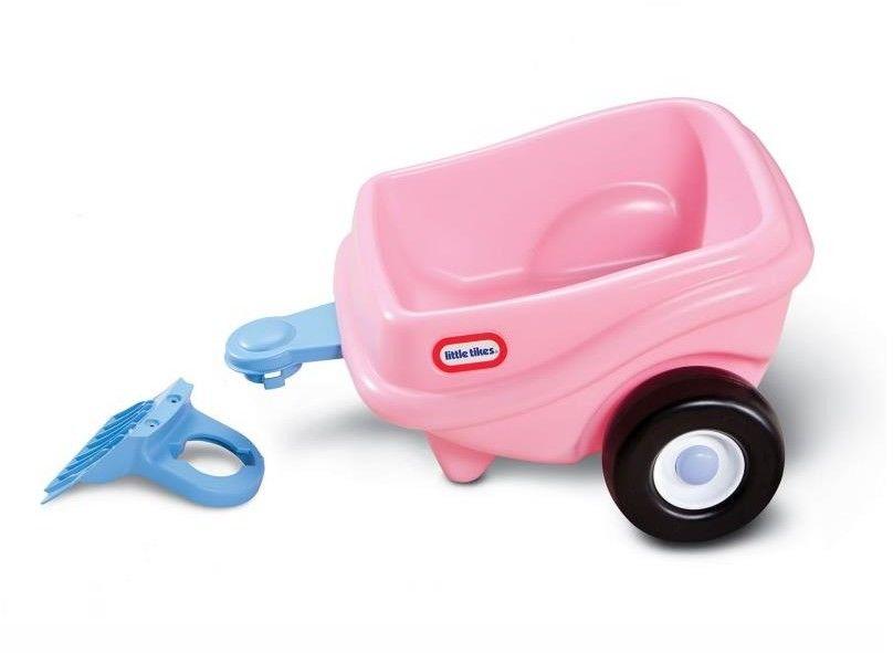 Little Tikes - Przyczepka różowa do pojazdów COZY COUPE Księżniczki 621451
