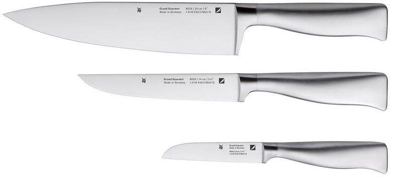 Wmf - zestaw noży grand gourmet - 3 szt