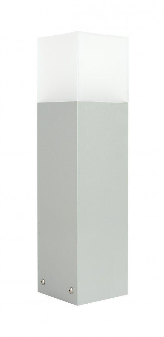 Lampa stojąca ogrodowa Cube Max CB-MAX 400 AL Srebrny IP44 - Su-ma Do -17% rabatu w koszyku i darmowa dostawa od 299zł !