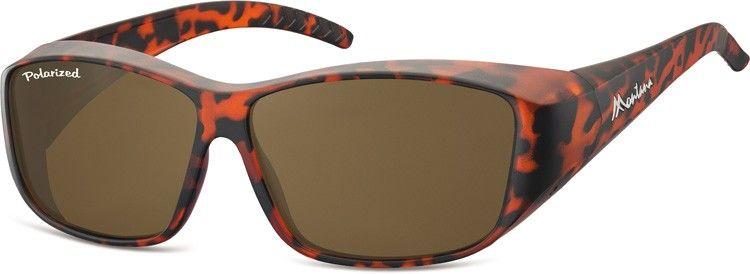 Panterkowe Okulary z Polaryzacją HD Fit Over dla Kierowców, nakładane na Korekcyjne FO4B