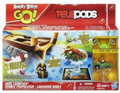 Hasbro Angry Birds Go - Podwójna wyrzutnia A6029
