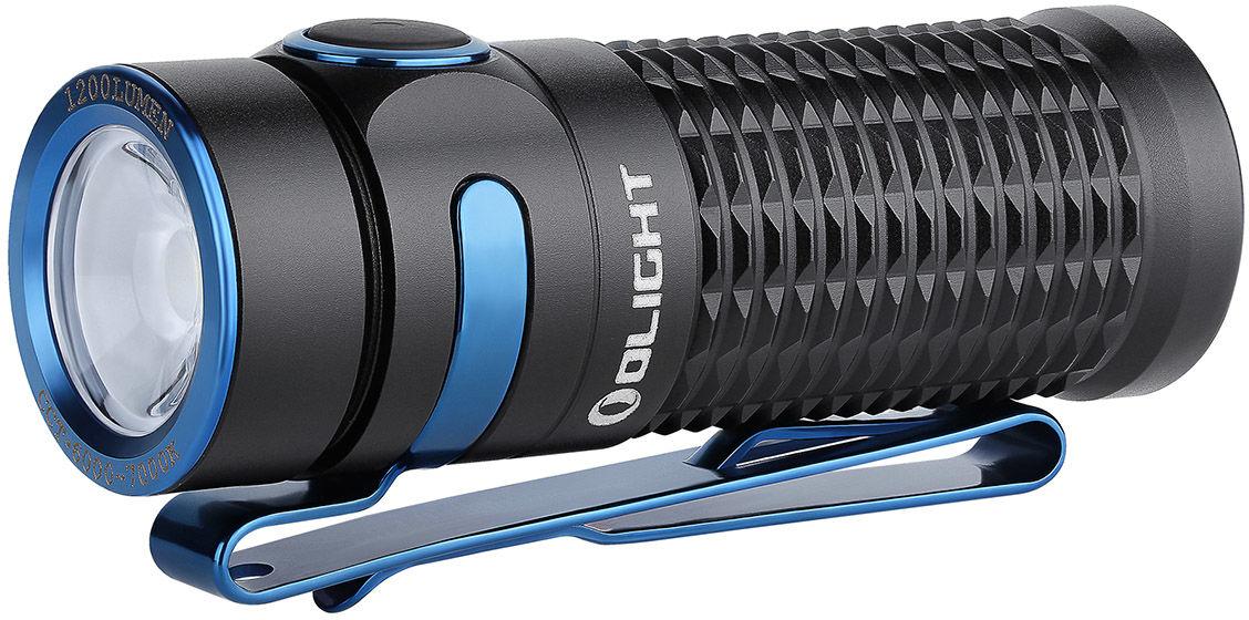 Latarka akumulatorowa Olight Baton 3 Black - 1200 lumenów