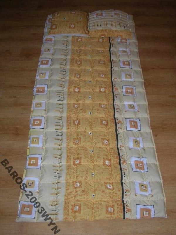 Materac z łuski gryki 190/75, 4 kg + poduszka