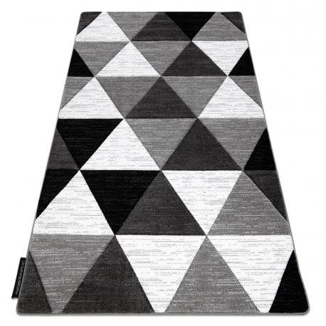 Dywan ALTER Rino Trójkąty szary 80x150 cm