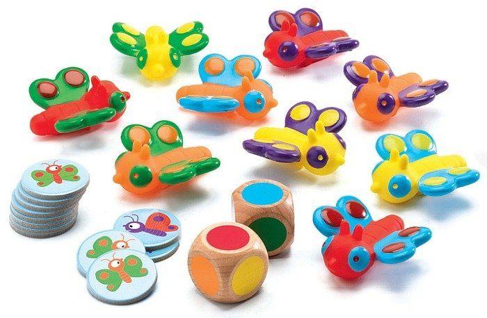 Tęczowe motylki - gra edukacyjna, DJ08551-Djeco - zabawki rozwojowe