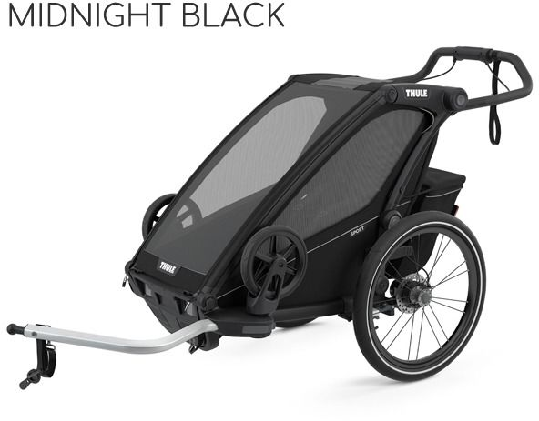Thule Chariot Sport 1 - Midnight Black