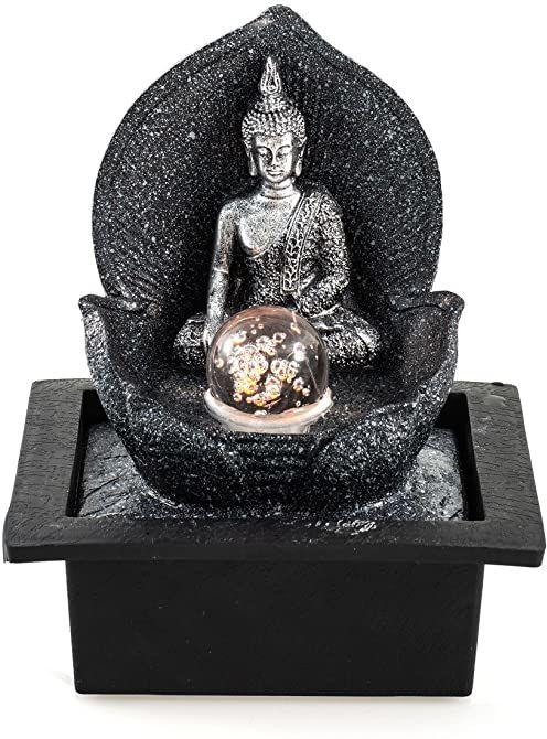 Fontanna pokojowa Silver Budda