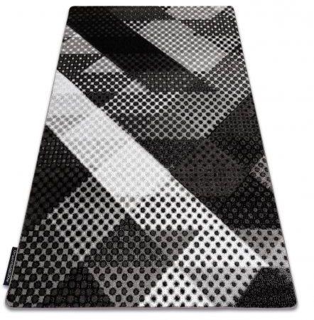 Dywan INTERO BALANCE 3D Kropki szary 80x150 cm