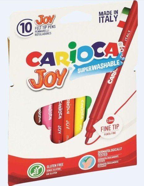 Pisaki Joy 10 kolorów CARIOCA