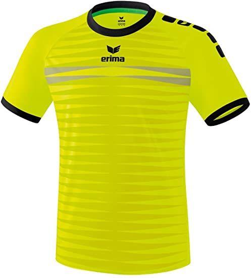 ERIMA Koszulka męska Ferrara 2.0 trykot, neonowy żółty/czarny, XXXL, 6131806