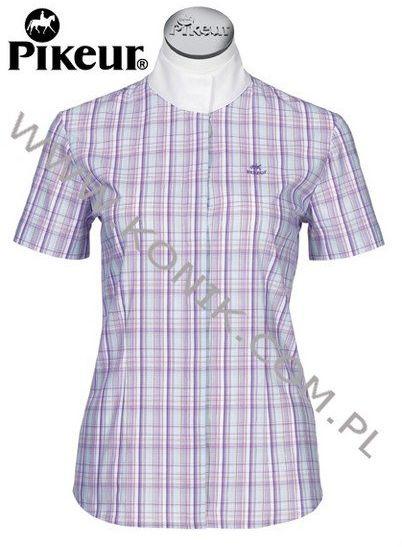 Koszula konkursowa damska - PIKEUR - kratka