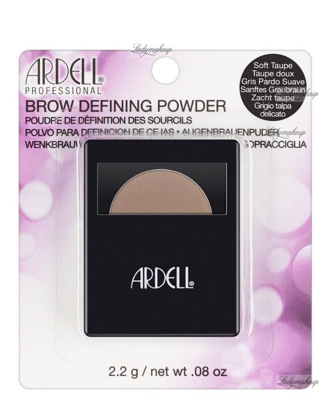 ARDELL - BROW DEFINING POWDER - Cień do stylizacji brwi - SOFT TAUPE