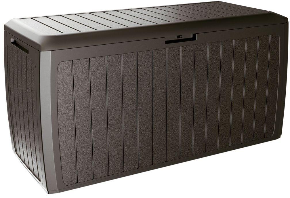 Skrzynia ogrodowa do przechowywania Boxe Board brązowy, 290 l, 116 cm