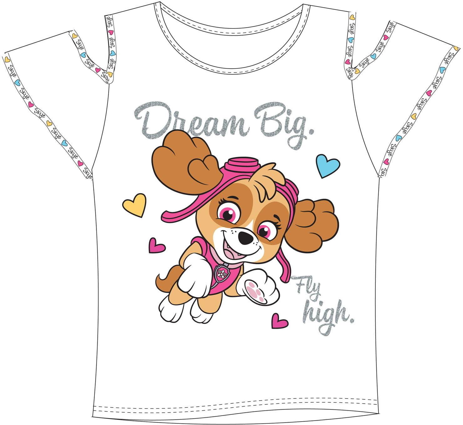Bluzka dla dziewczynki PSI PATROL t-shirt