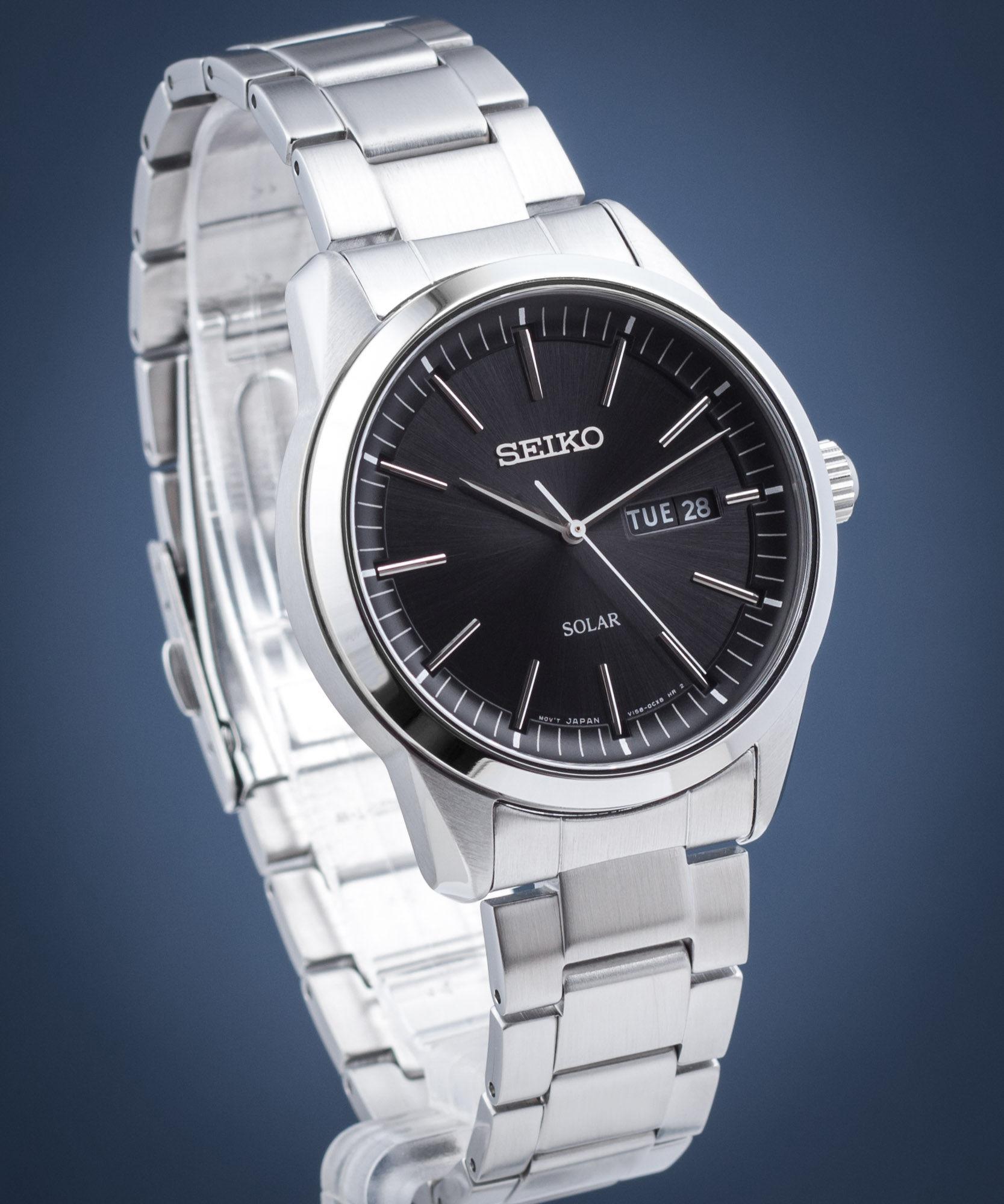 Zegarek męski Seiko Solar