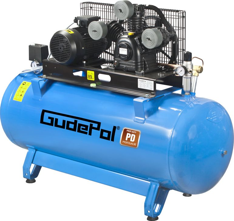 Sprężarka tłokowa GudePol PD 100/500/1200 VT
