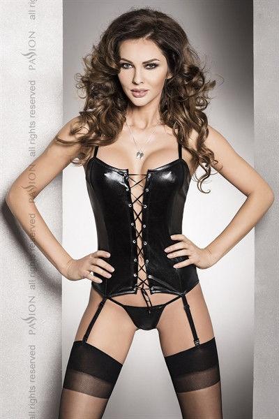 Passion Bes Corset Black - Luxurious coset