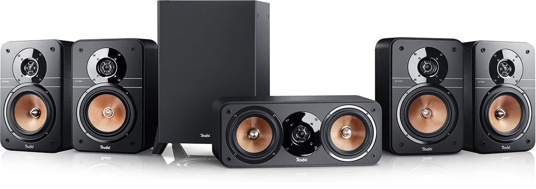 Teufel ULTIMA 20 SURROUND 5.1, kino domowe, czarne