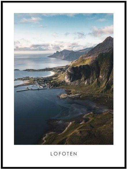 Obraz View Lofoten 50 x 70 cm