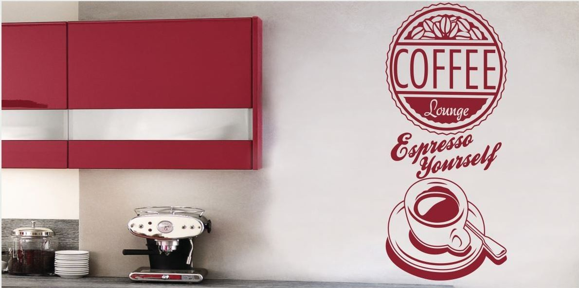 Naklejka do kuchni Coffee espresso
